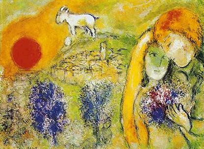 the lovers...chagall
