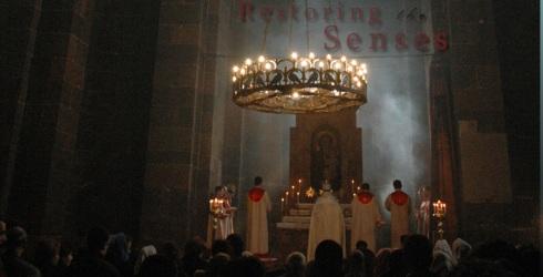 nicholas-babaian armenian church service at easter