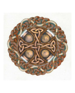 wooden celtic knot