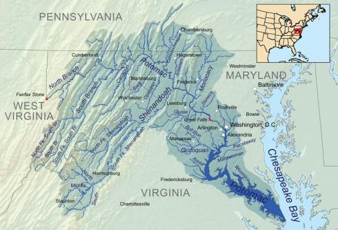 800px-Potomacwatershedmap