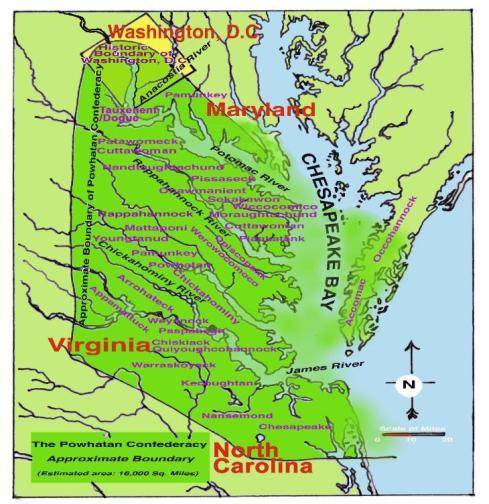 powhatan territory