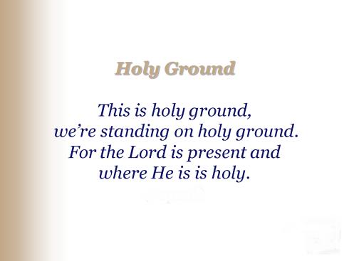 holyground