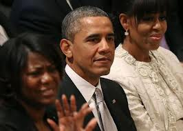 obama at prayer service