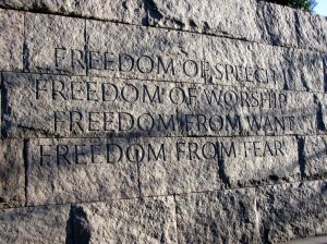 Roosevelt_Memorial_Four_Freedoms