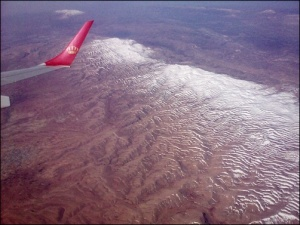 aerial view of lebanon