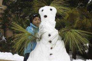 amman snow man
