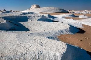 desert snow banks