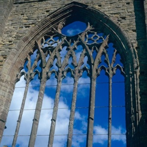 tintern abbey window