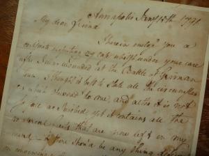 civil war letter germantown