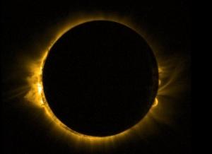 eclipse silhoette