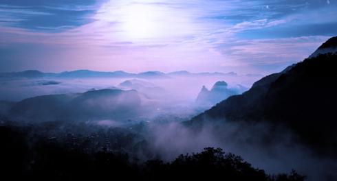 yandang mountains near wenzhou