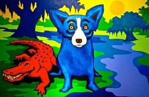 blue dog cajun