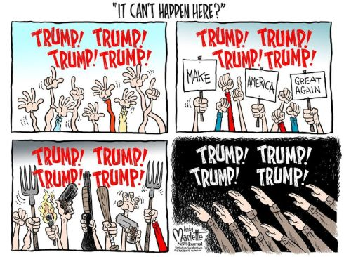 trump fascist c