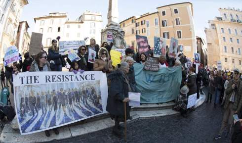 Women's March in Rome