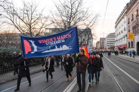Sweden Women's March